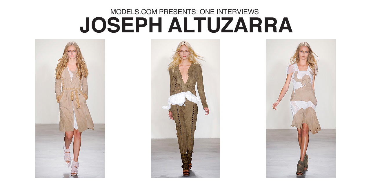 Interview: Joseph Altuzarra