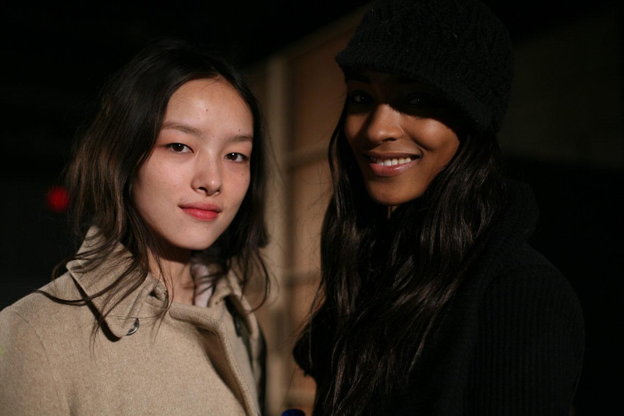 Designer: Chanel; Model: Caroline De Maigret; Photographer: GoRunway.com