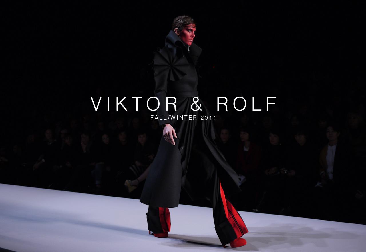 viktor rolf fall winter 2011 mdx. Black Bedroom Furniture Sets. Home Design Ideas