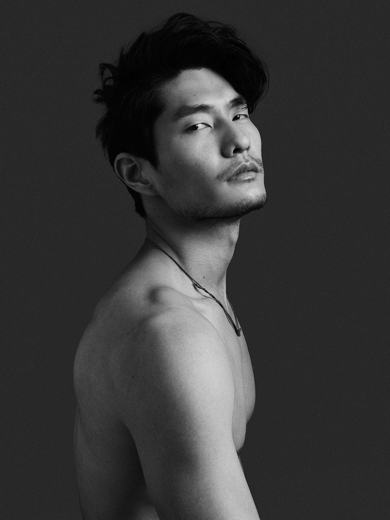 Asian man model