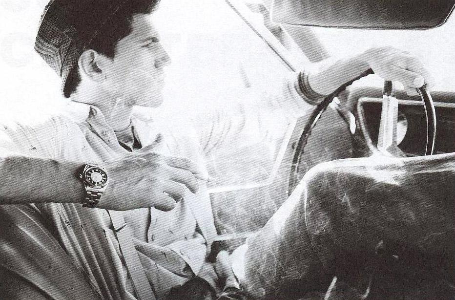 George Pantelakis in Dapper Dan magazine