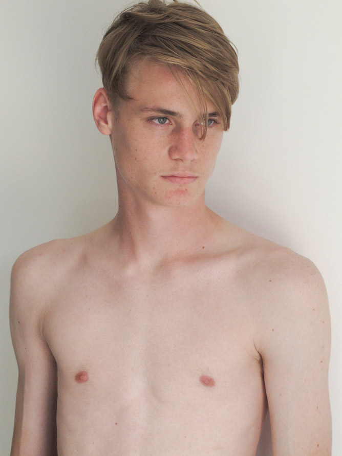Adriel Berwaldt / image courtesy Glam Model Management