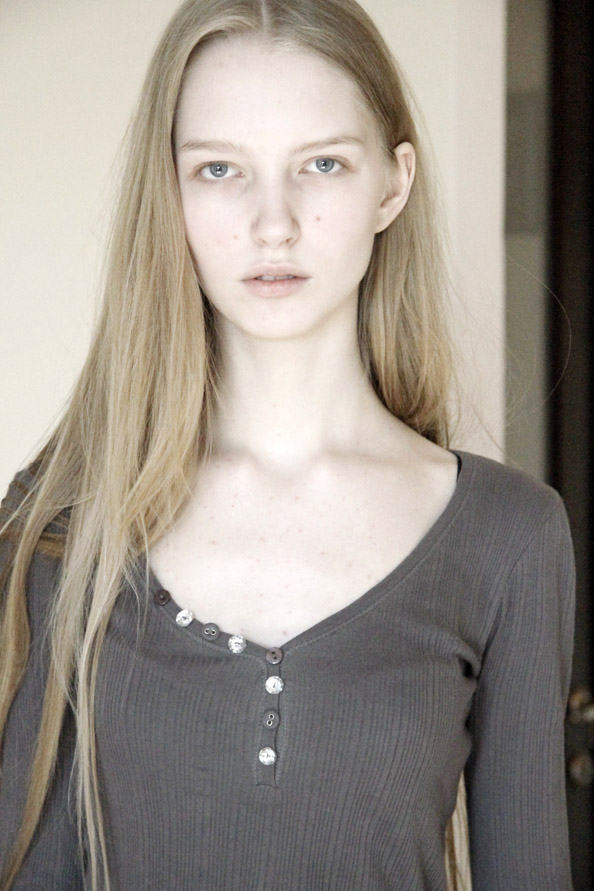 Irina Shipunova / polaroid courtesy AL Model Management