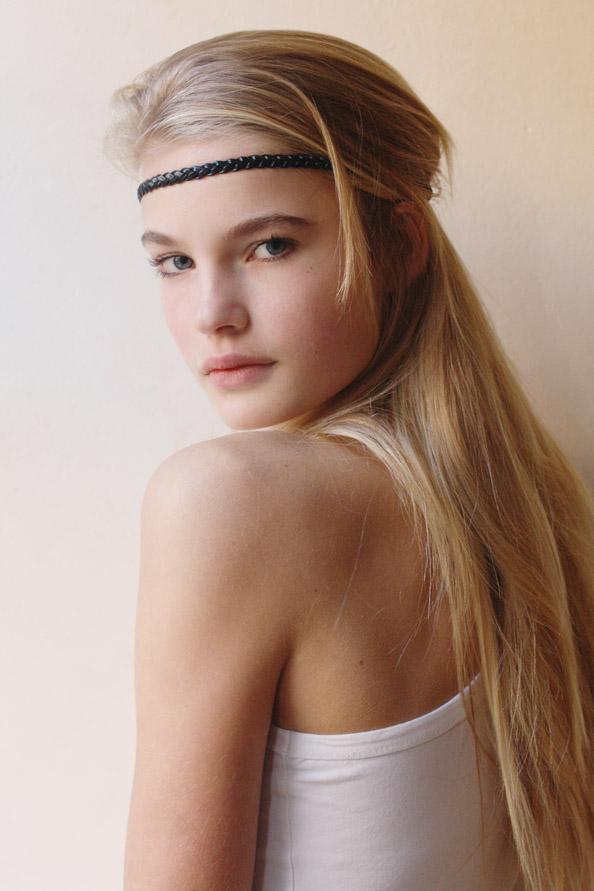 New faces teen models