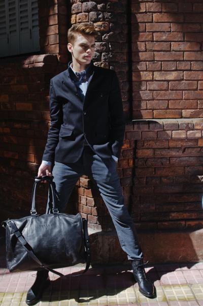 Agustin Alerborn / image courtesy Visage Models