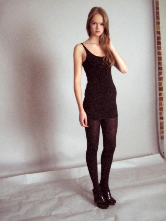 Amy Post / polaroid courtesy SPS Model Management