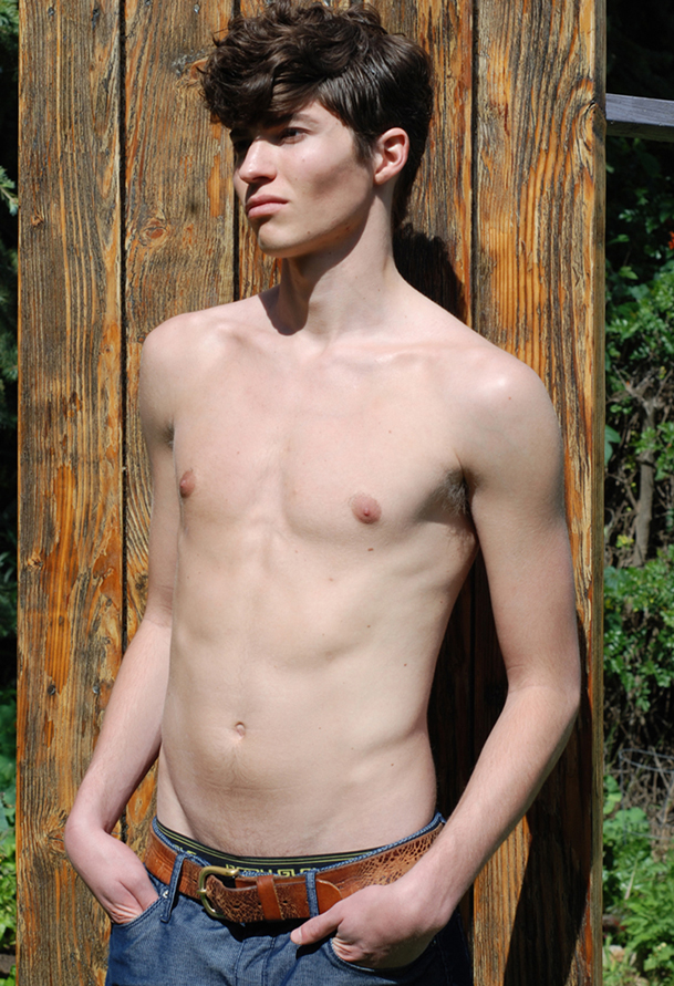 Shane Snow / image courtesy Specimen Model Management