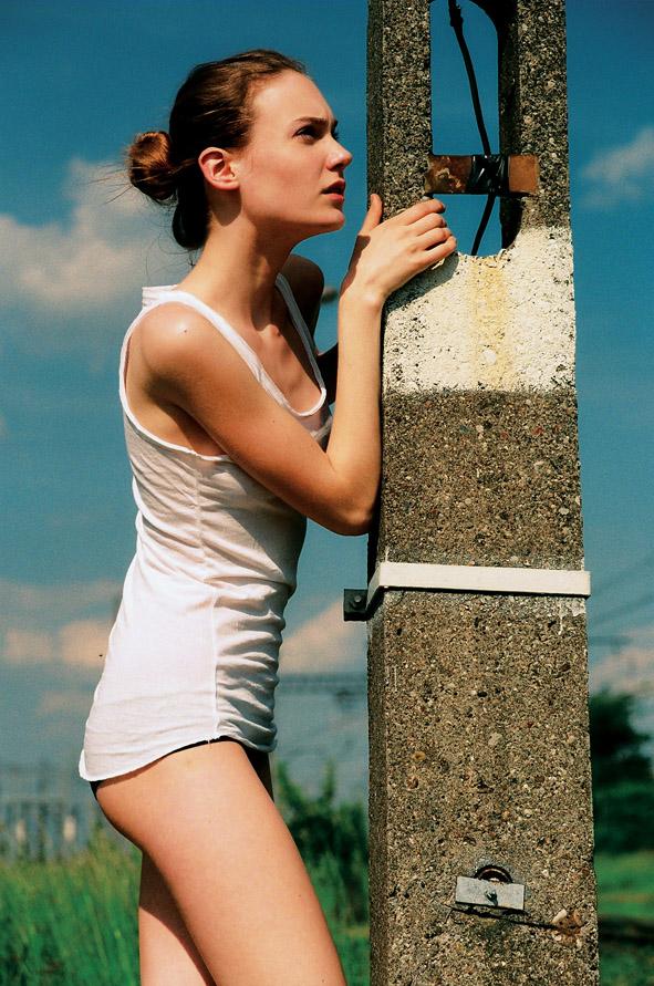 Basia / image courtesy GAGA Model Agency