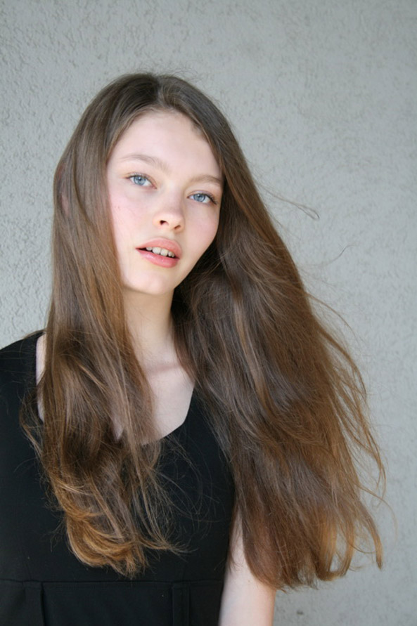 Adriana Mockovciakova / polaroid courtesy Exit Model Management