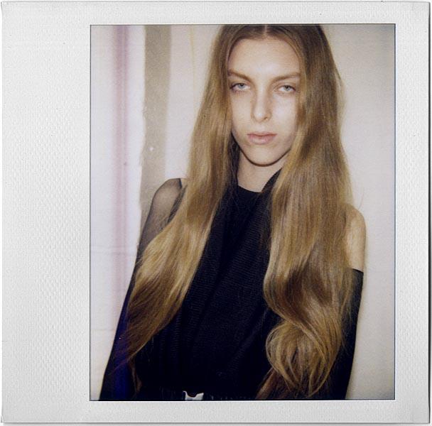 Chloe / polaroid courtesy FM Agency