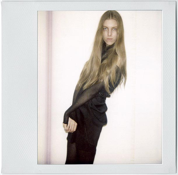 Chloe / polaroid courtesy FM Agency