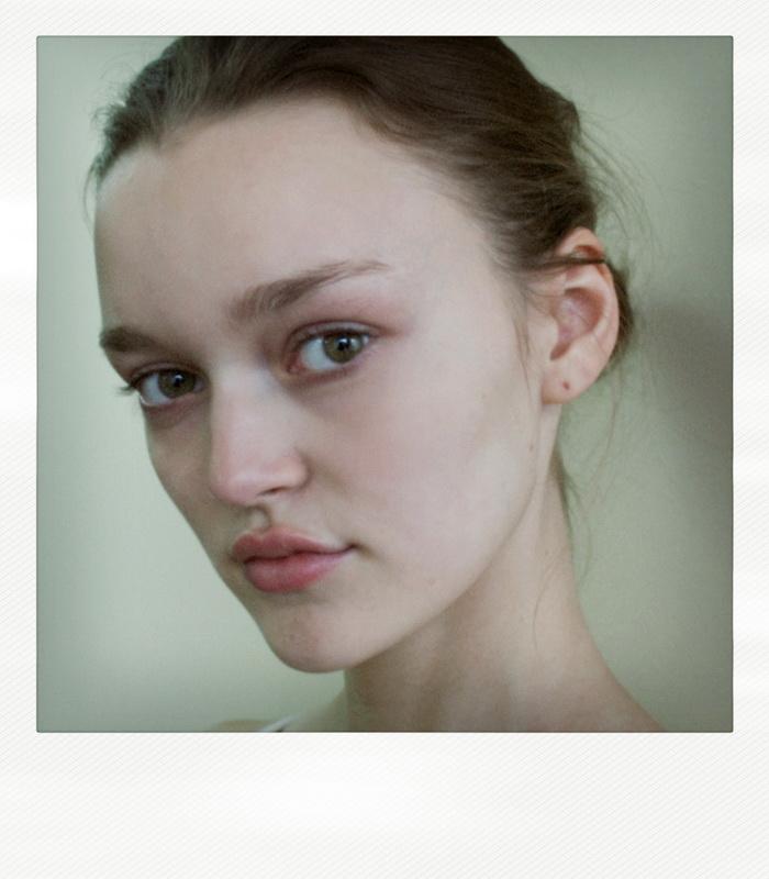 Diana Rudenok / polaroid courtesy Nagorny Models