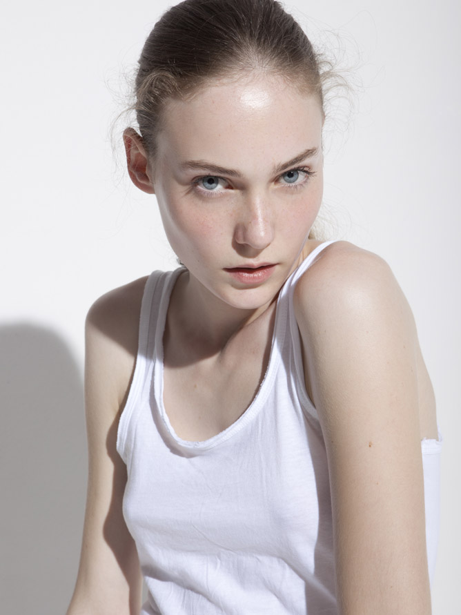Basia / polaroid courtesy GAGA Model Agency