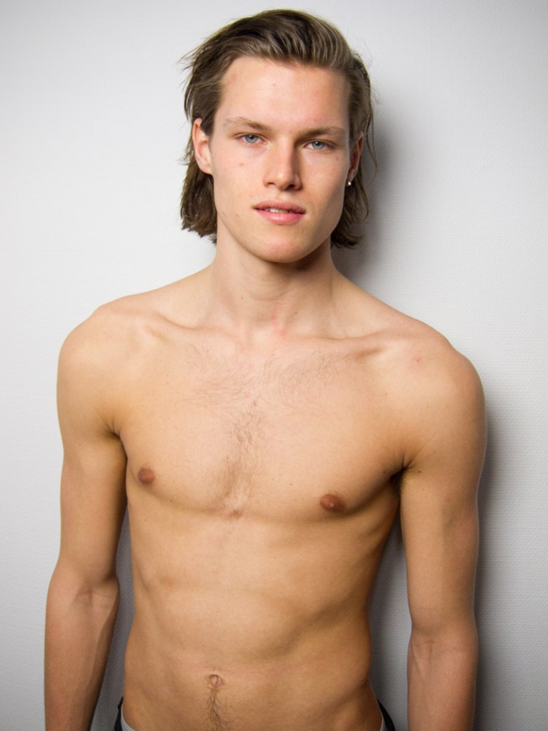 Simen Sandbaek / polaroid courtesy Team Models
