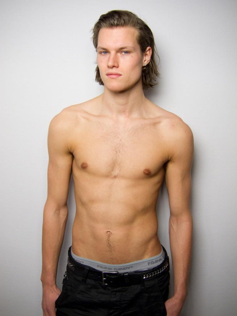 Simen Sandbaek / polaroid courtesy Team Models