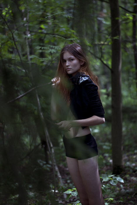 Agata Danilova / image courtesy AL Models