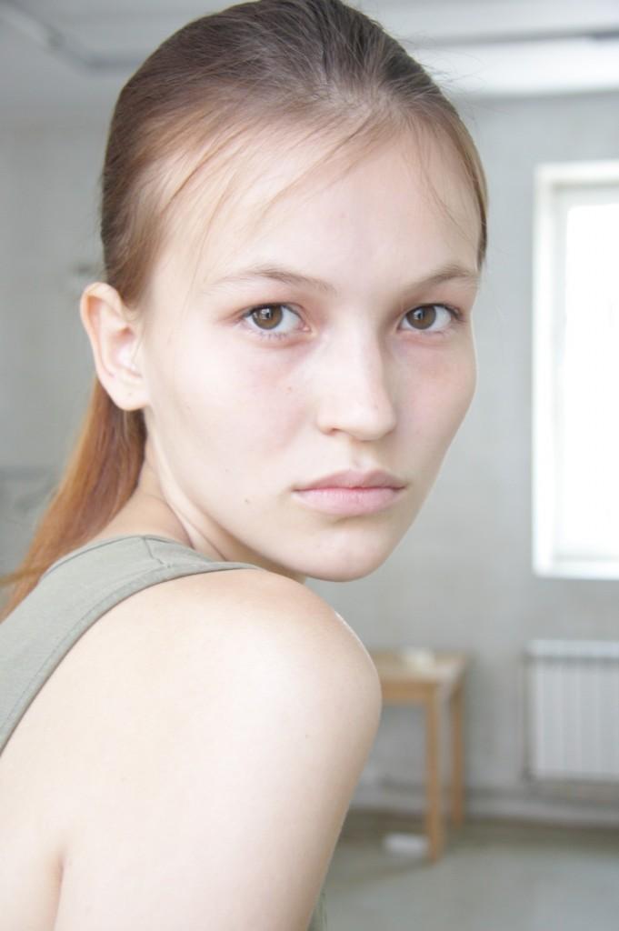 Agata Danilova / polaroid courtesy AL Models
