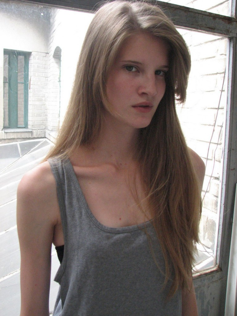 Zsuzsa Vagner / polaroid courtesy VM Models