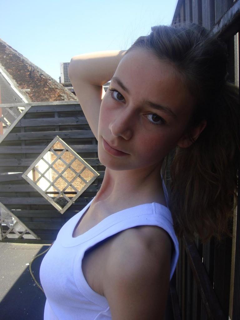Hanna Van Raemdonck / polaroid courtesy Jill Models