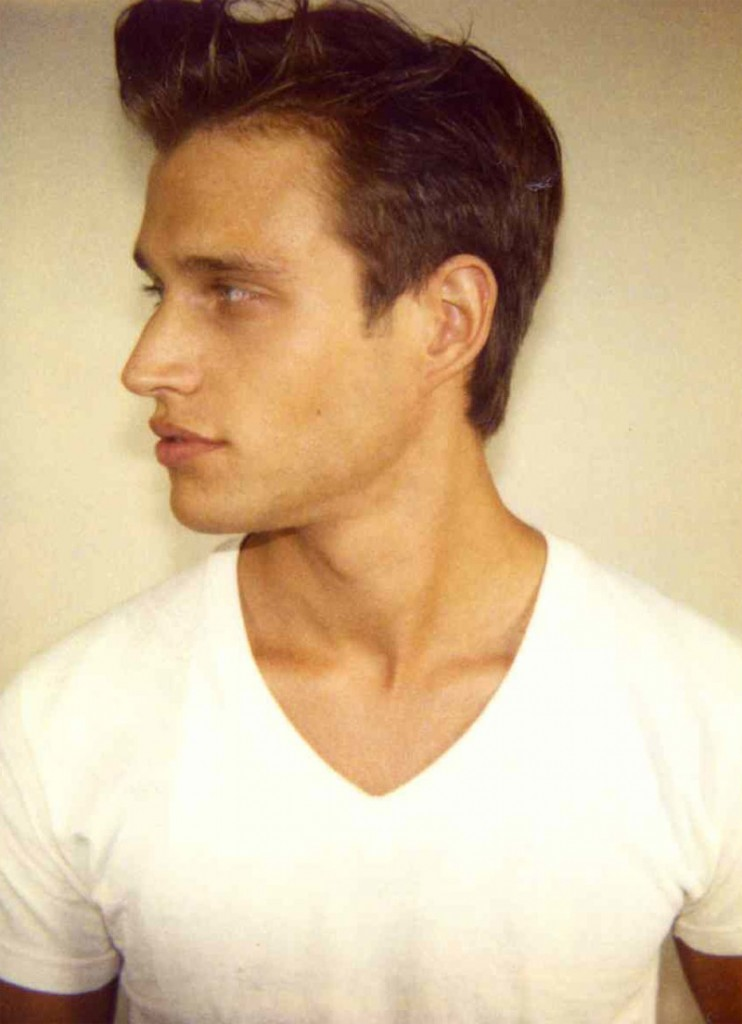 Zach Durham / polaroid courtesy Ford Models