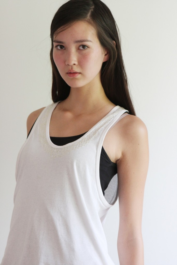 Jennifer Koch / polaroid courtesy Cream Models