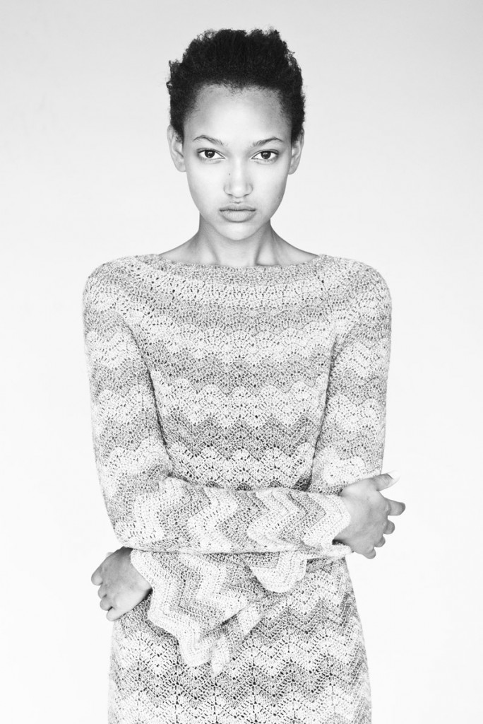 Nur / image courtesy am Model Management