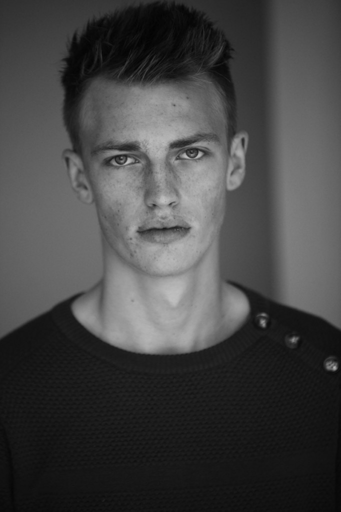 Victor Nylander / image courtesy Franck Welker @ Ford Models Europe