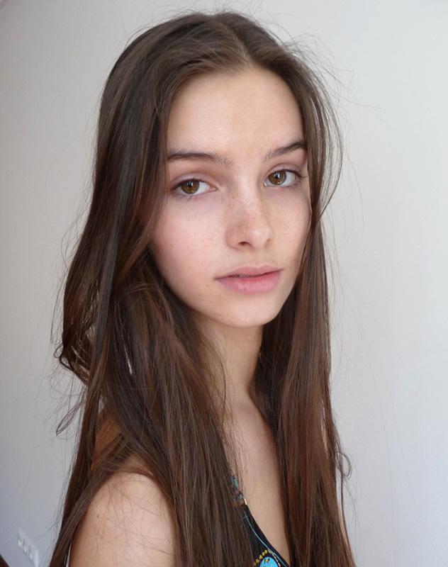 Daria / polaroid courtesy Rush Models