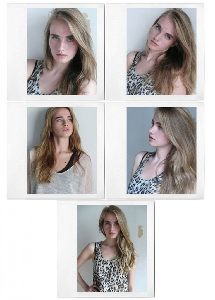 Elinor Weedon / polaroids courtesy TESS Management