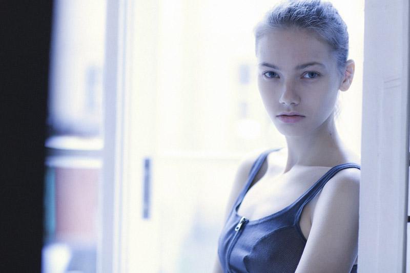 Olga / image courtesy AL Model Management