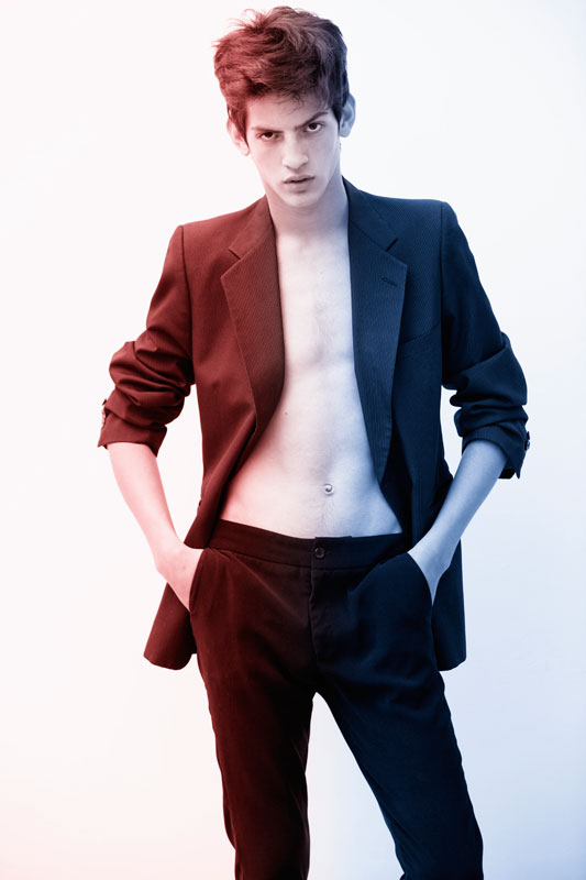 Chris / image courtesy Love Model Management