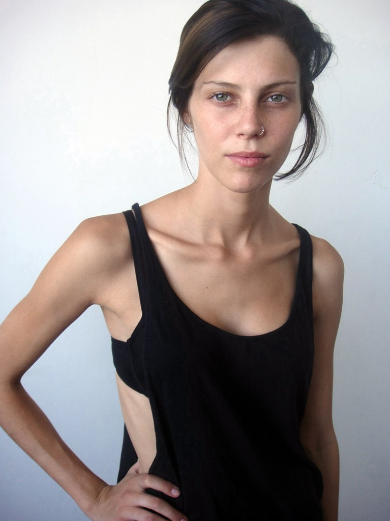 Lydia / polaroid courtesy Work Models