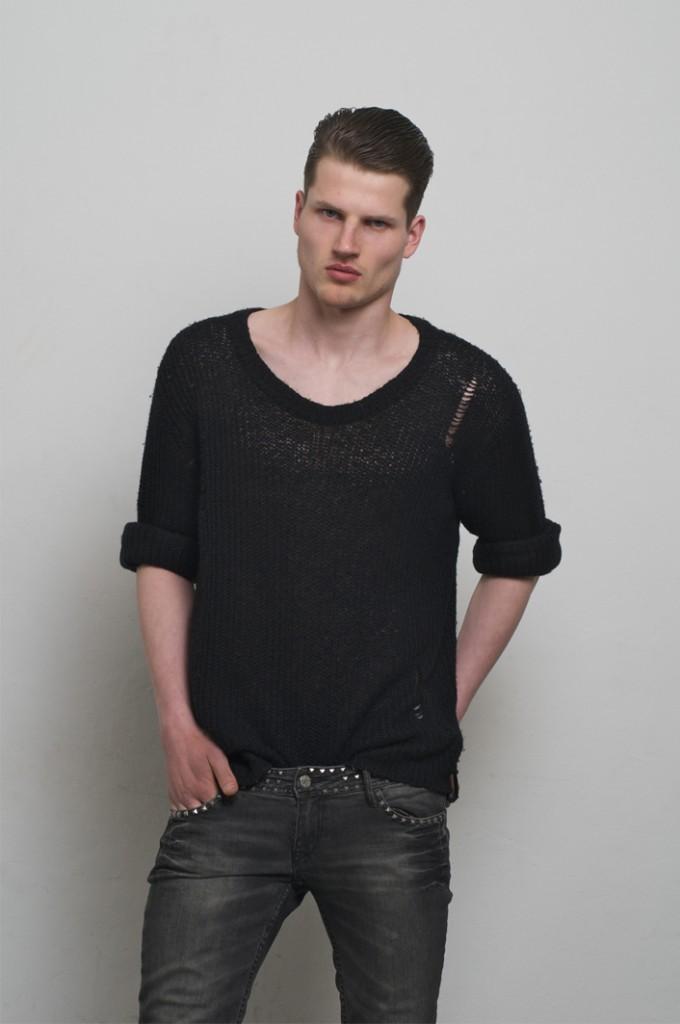 David / image courtesy SMC Model Management