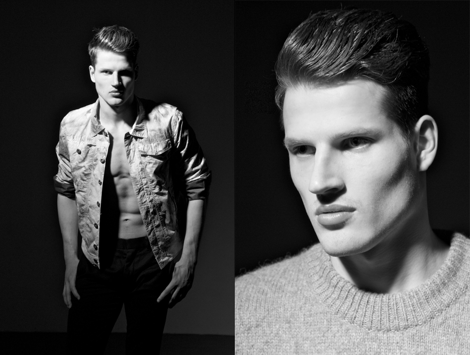 David / image courtesy SMC Model Management