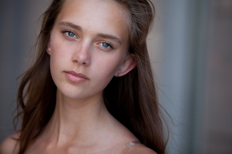 Daria / images courtesy Hollywood Model Management