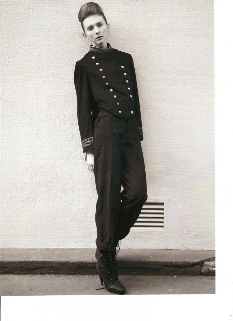 Valeriya / image courtesy Hollywood Model Management