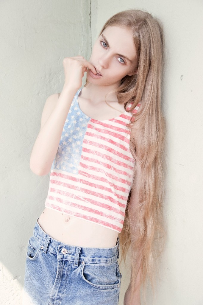 April / image courtesy AL Models NY