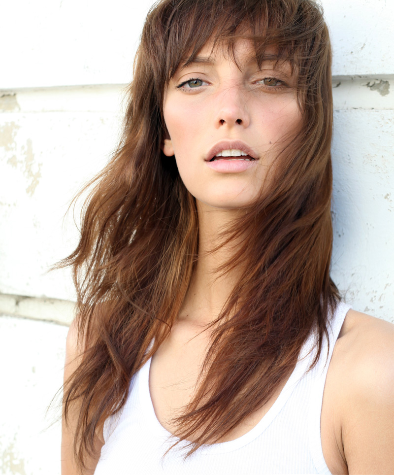 Charissa / image courtesy Ice Model Management
