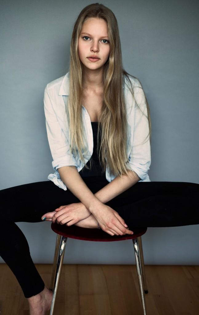 Marieke / image by Luc Coiffait courtesy Profile Models