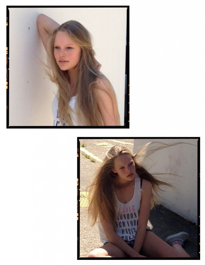 Marieke / polaroids courtesy Profile Models