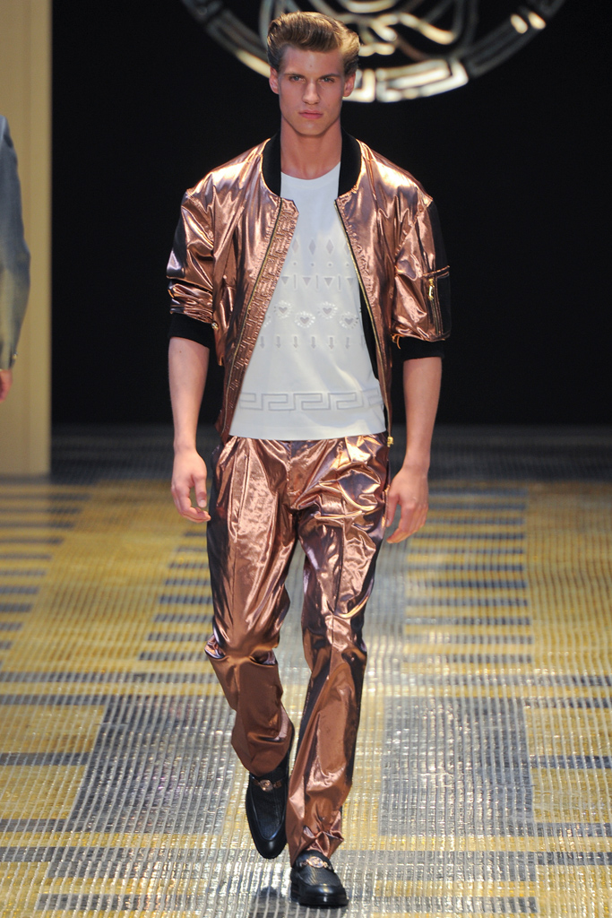Sebastian @ Versace / image style.com