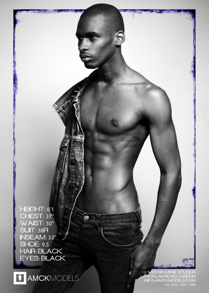 Axel / image courtesy Your Angel Models
