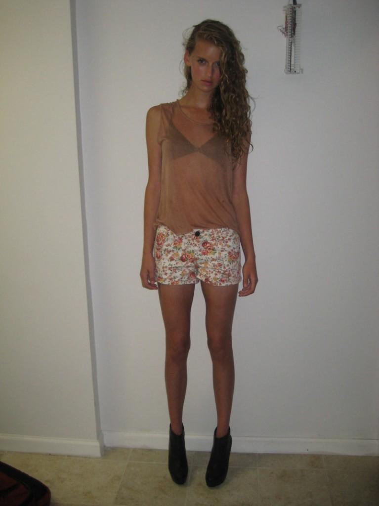 Sara / image courtesy Boss Models