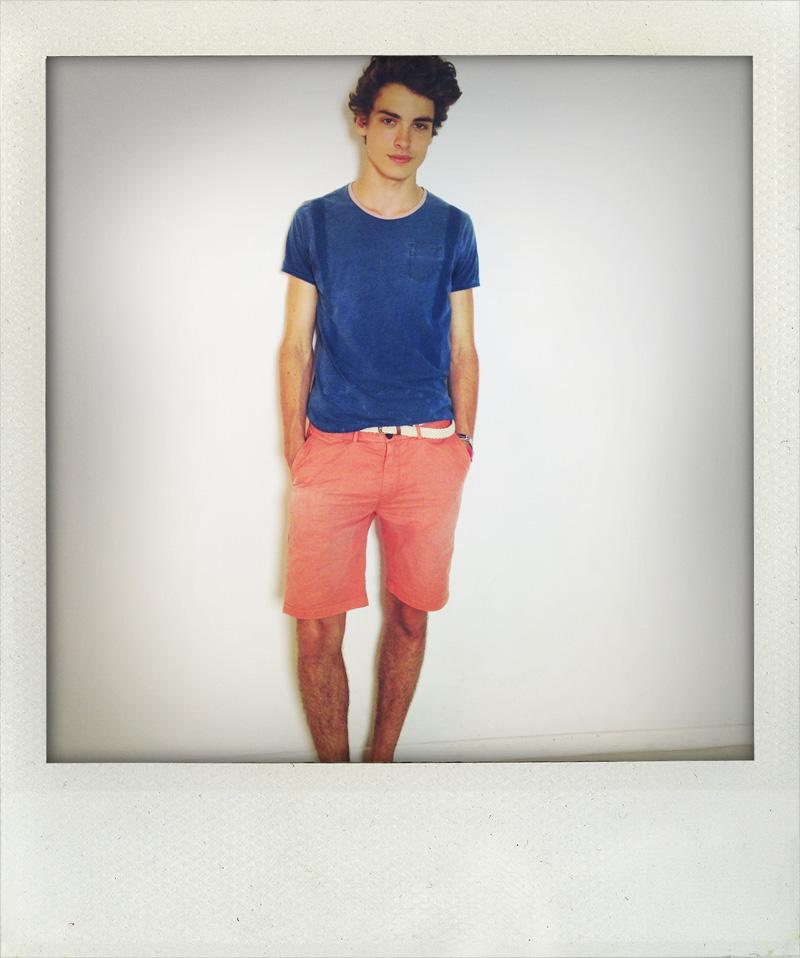 Michiel / polaroid courtesy Dominique Models