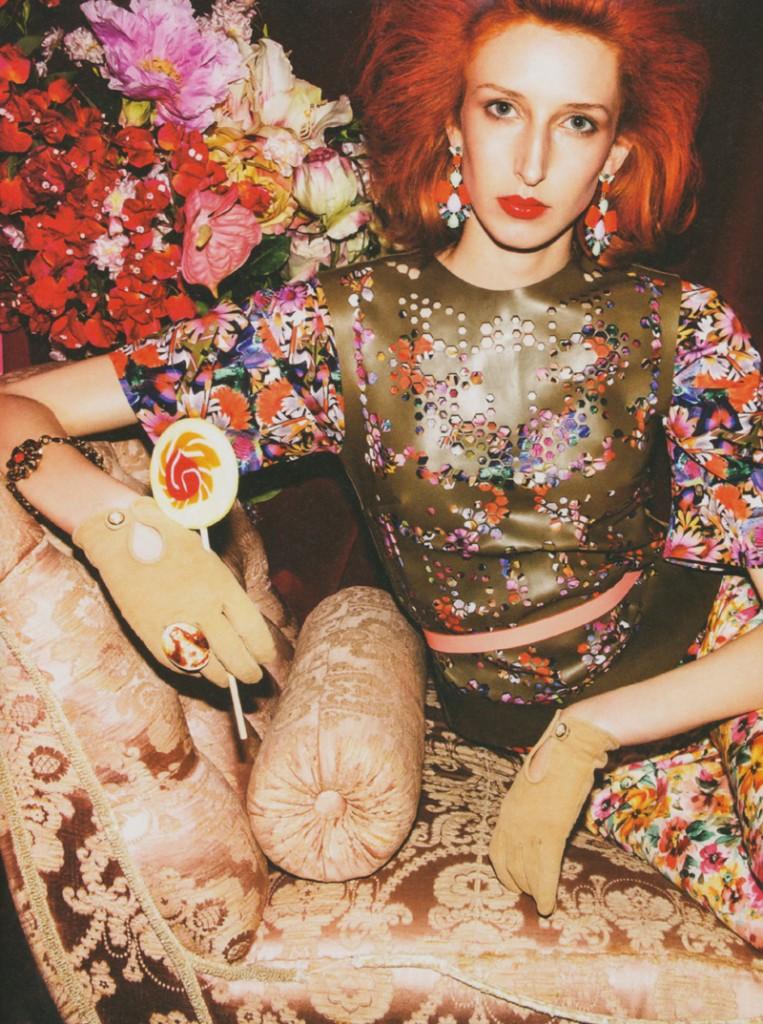 Sophia / image courtesy Model Management (2)