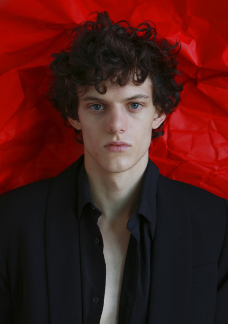 Michael / Red Model Mgmt / photo by Kai Feng