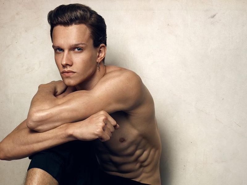 Leo / image courtesy Premier Models Management (2)