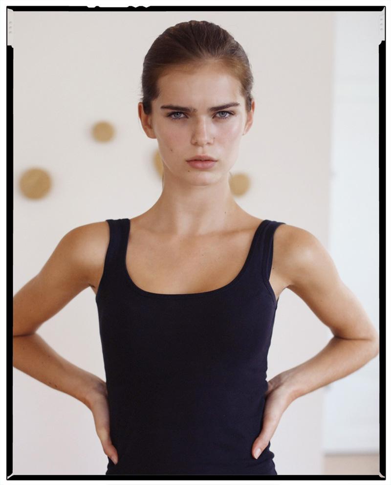 Sandra Schmidt | NEWfaces: http://models.com/newfaces/modeloftheweek/39006