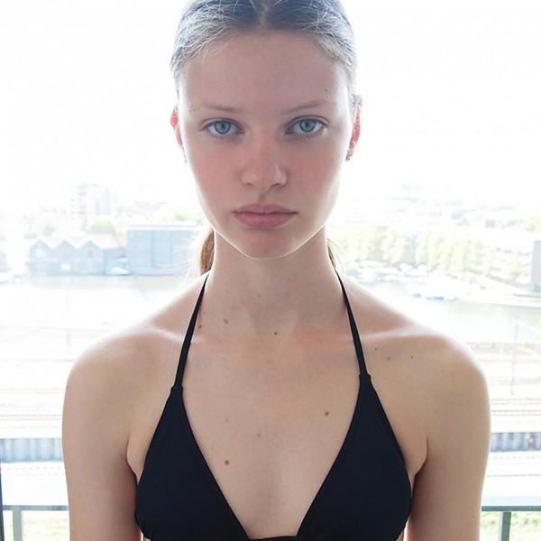 polaroid courtesy A Models Amsterdam