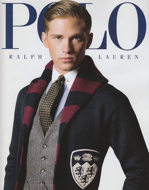 Travis/ Major Model Management . Ph: Arnaldo Anaya Luca for Polo Ralph
